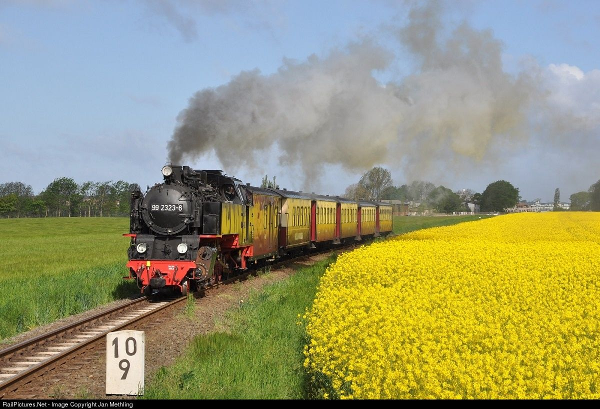 RailPictures.Net Photo: 99 2323-6 Mecklenburgische Bäderbahn Molli Steam 2-8-2 at Kühlungsborn, Germany by Jan Methling