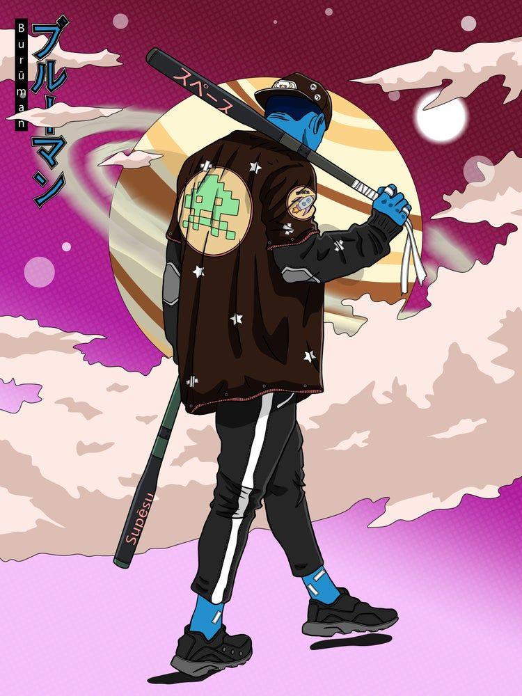 Home I P LOBATO Samurai anime, Samurai art, Character