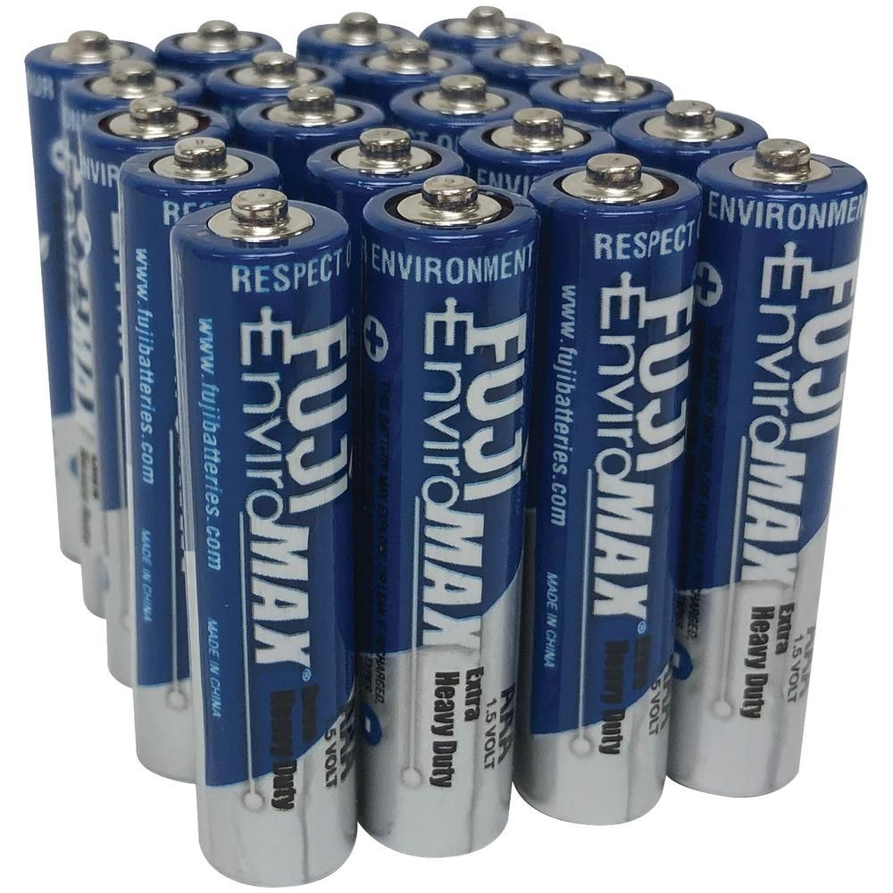 Fuji Batteries Enviromax Aaa Extra Heavy Duty Batteries 20 Pk Heavy Duty Led Flashlight Led Headlamp
