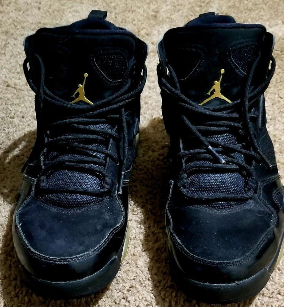 new product 32272 25bcb Men s Air Jordan Flight Club  91 Basketball Black Metallic Gold Gold 555475  031  fashion  clothing  shoes  accessories  mensshoes  athleticshoes (ebay  link)