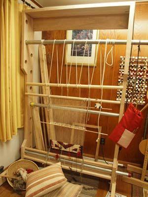 Navajo Loom And Warping Frame Woven Dreams Pinterest
