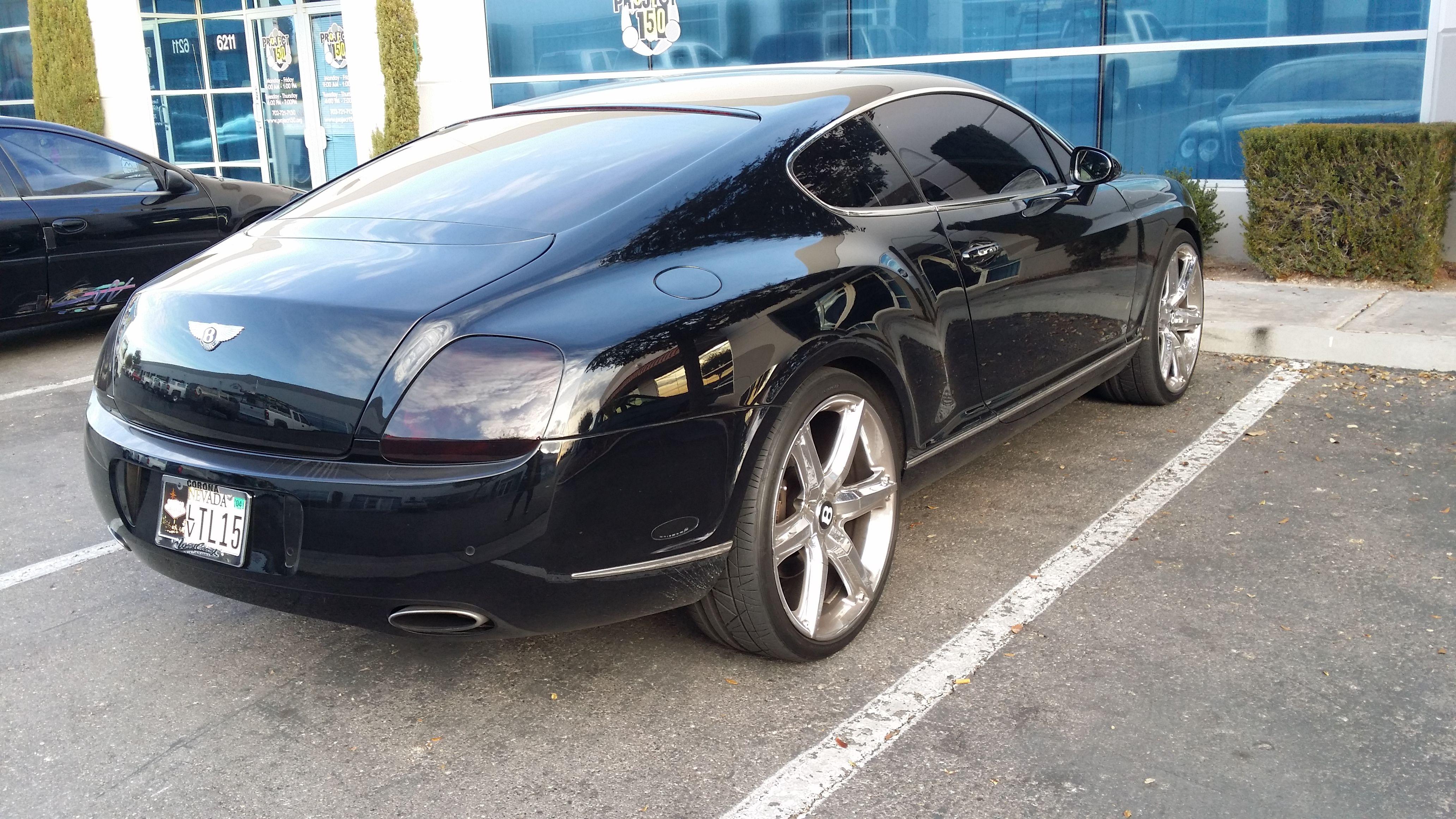 bentley in Las Vegas Auto Extraveganza