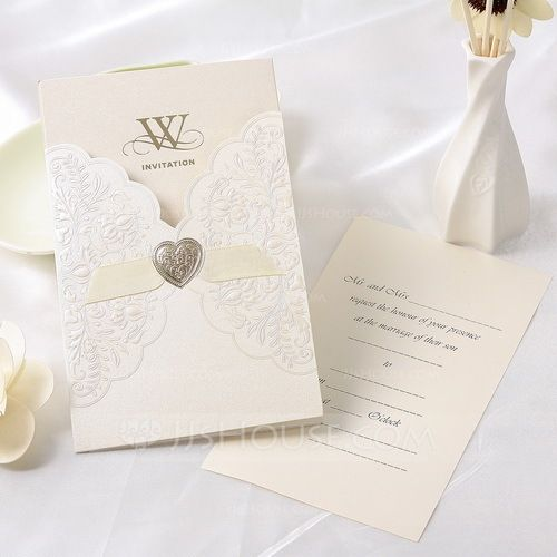 Invitation Cards Classic Theme Summer Spring Fall Winter Ivory – Fall or Winter Theme Invitation Cards