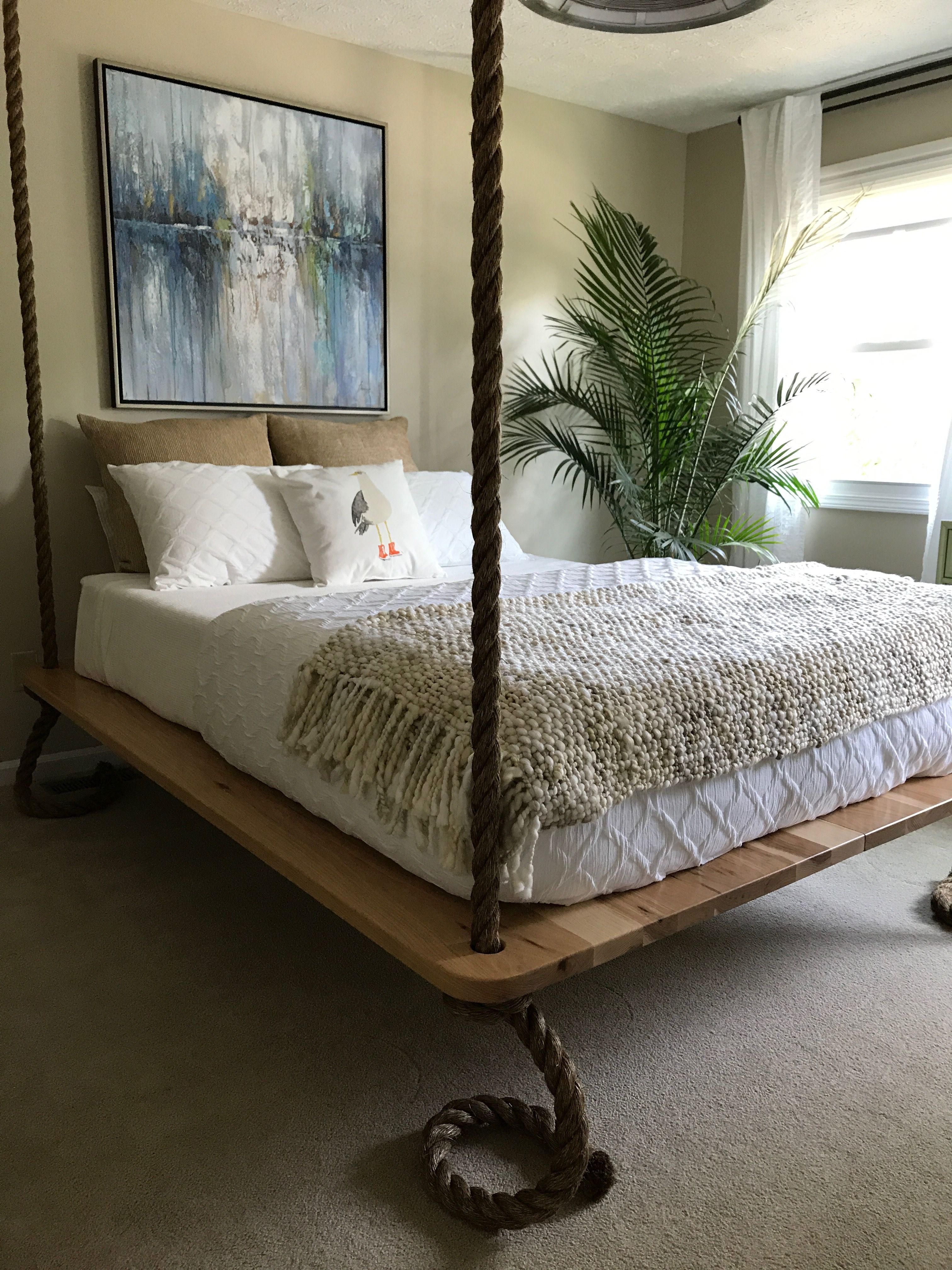 Pin by Janis Wagner on Bed Swing Diy bed, Headboards for