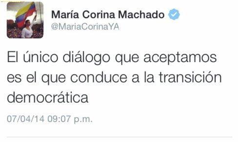 ESTOOOOOOOOOO >>>>>> RT @ESLAVAJ1: @copipega @pueblo_hnos @MKenancio @felixskalona  LO DIJO @MariaCorinaYA Y PUNTO pic.twitter.com/Jvb7HIVrIW