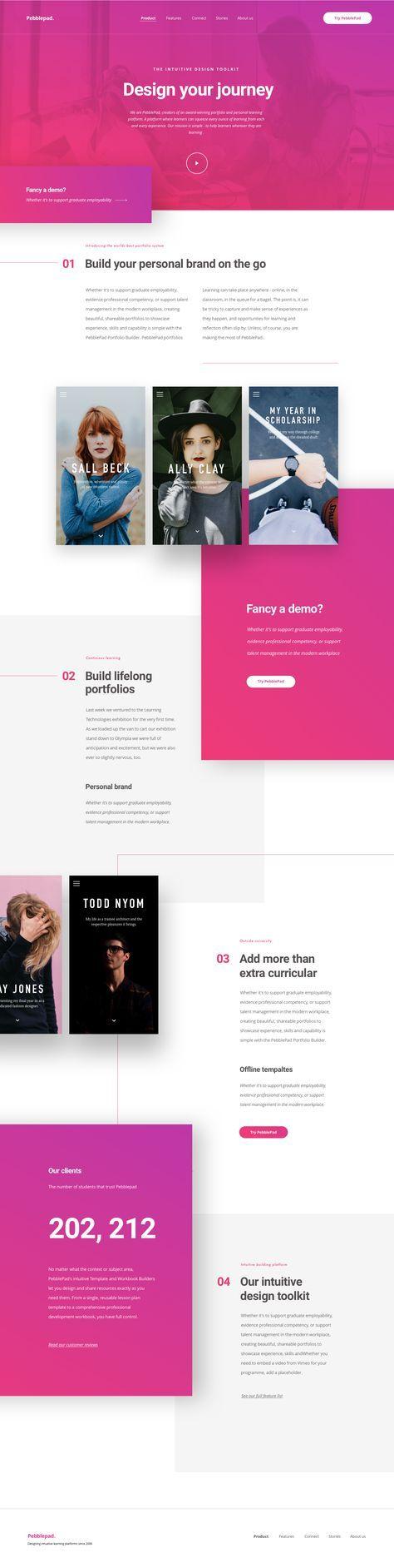 Pebble Home New Web Design Web Development Design Web Template Design