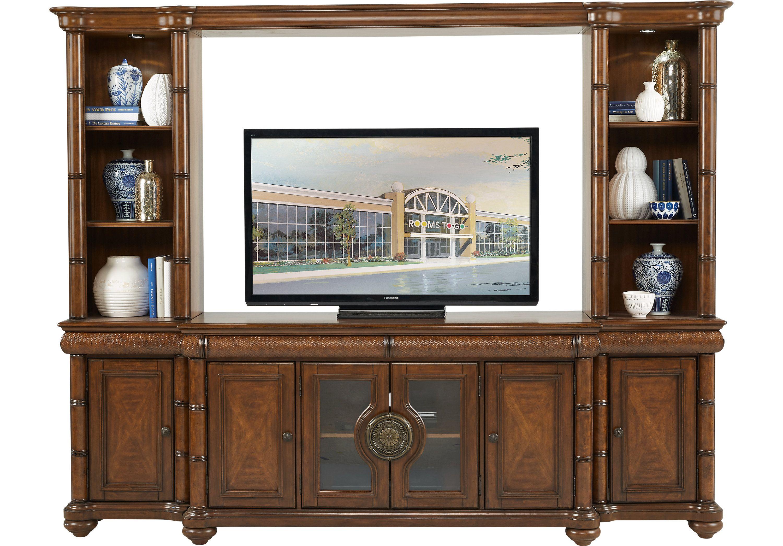 Hooker Furniture Sorella Entertainment Center for TVs up t