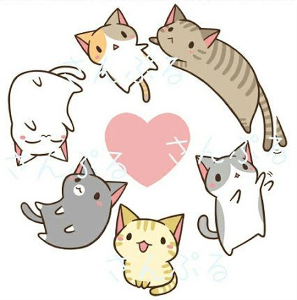 Pure White One Whitestorm Brown One Tigerclaw White Brown Ish And Orange One Spottedleaf Dark Gray One Graystripe Cute Drawings Cute Cat Drawing Cute Art