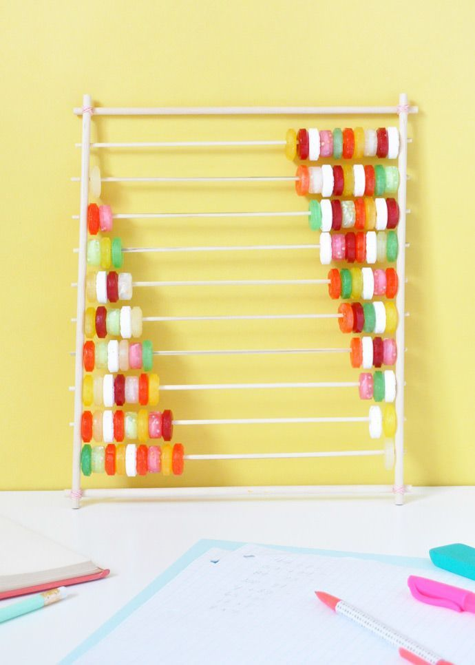 Candy Abacus   Crafts toddlers, Kid activities and Craft