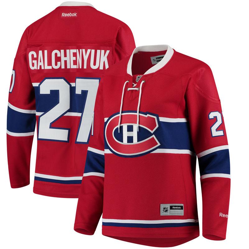 competitive price 273f3 904f9 Alex Galchenyuk Montreal Canadiens Reebok Women's Home ...
