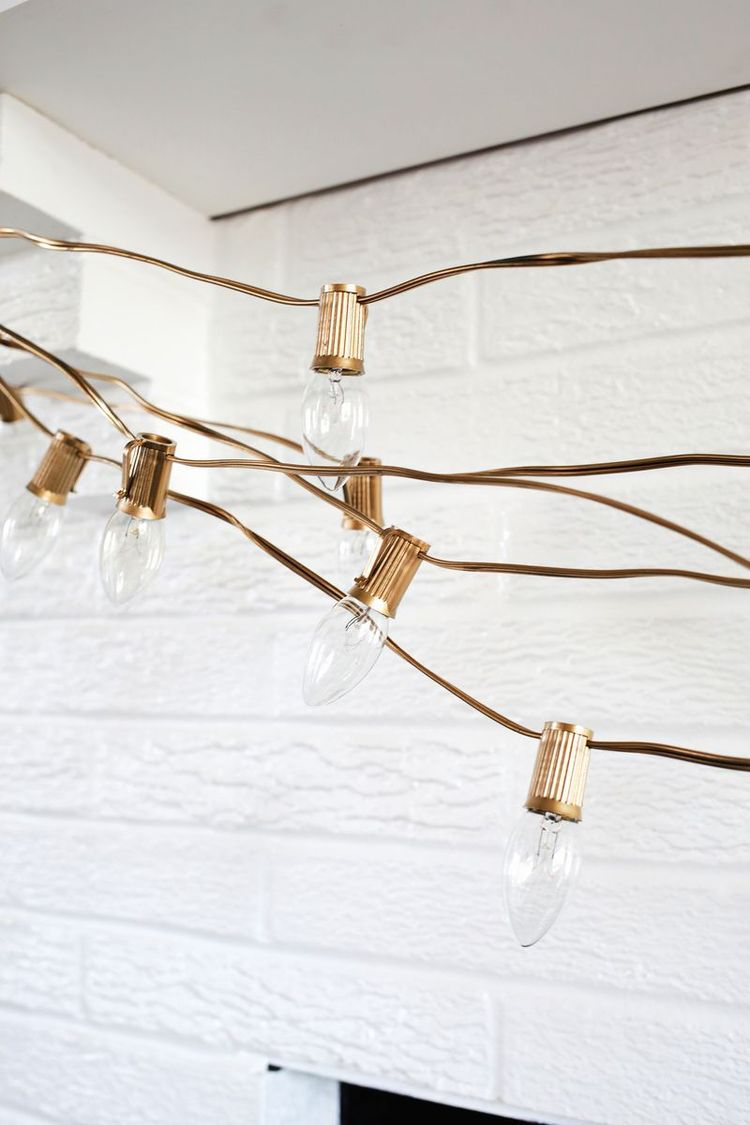 Try This: Painted Christmas Lights