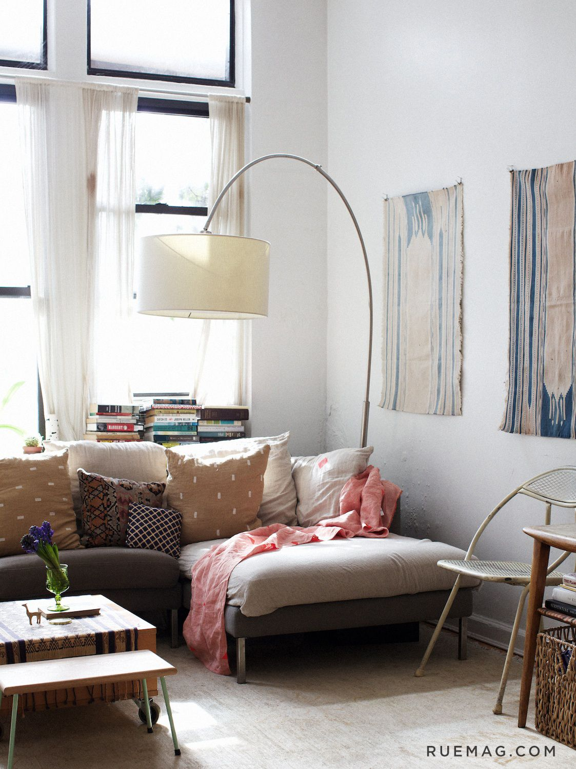 Apartment Interior With 4 Rooms: Four Patriotic Rooms For The Fourth