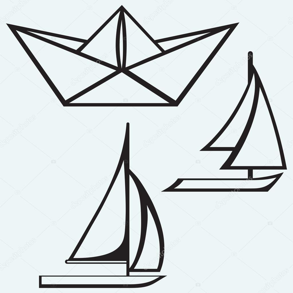 Schiff Vorlage
