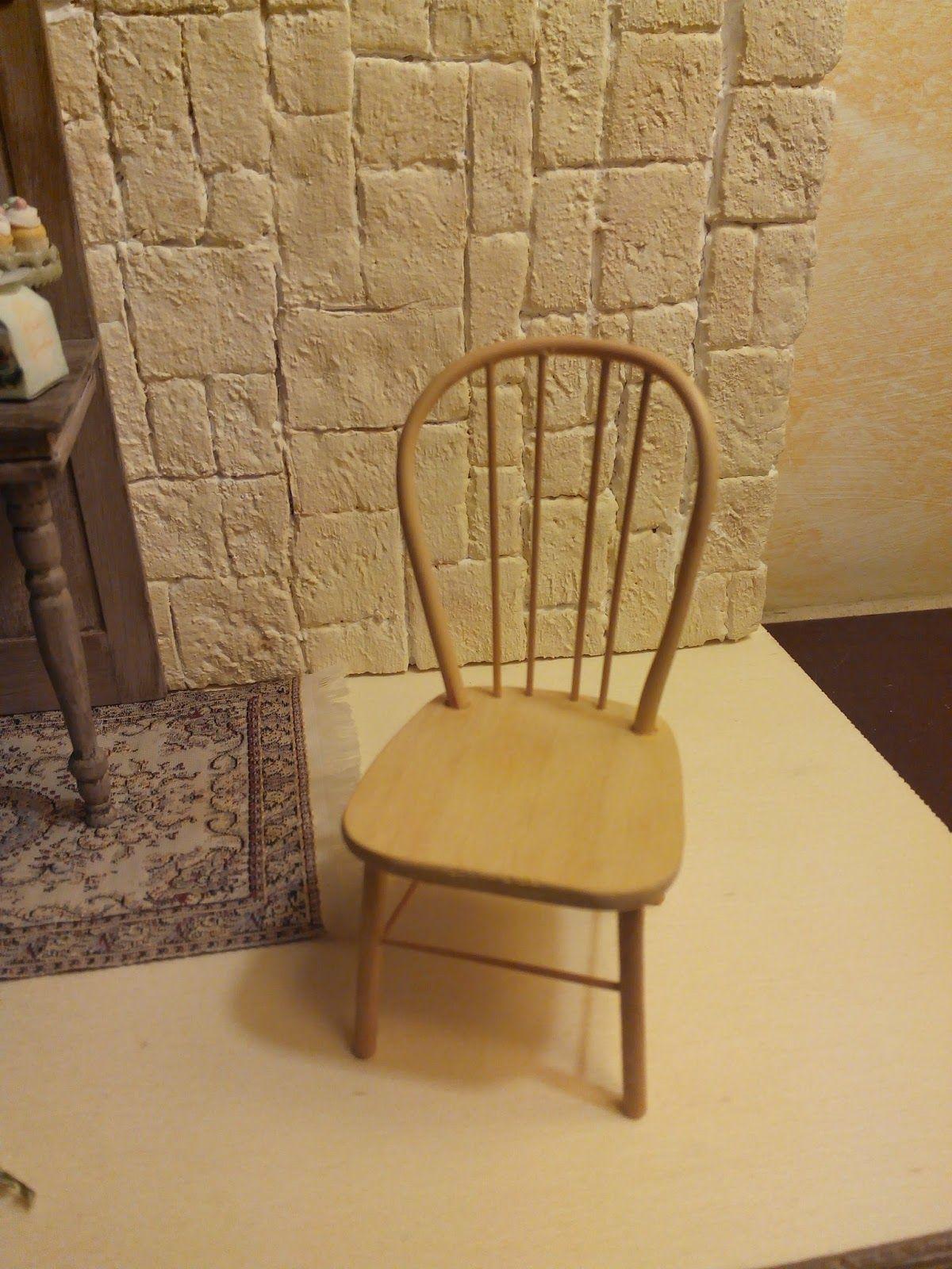 Il mondo in scala 1 12 sedia