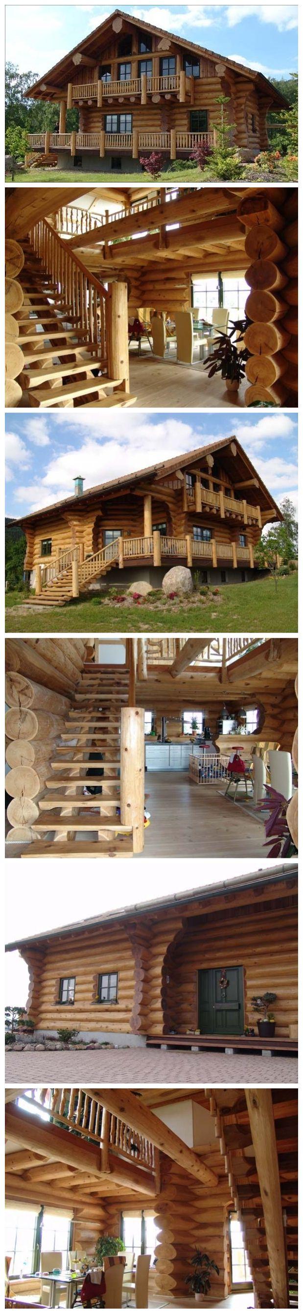 Beautiful Log Home Design Log Home Designs Log Homes House Design