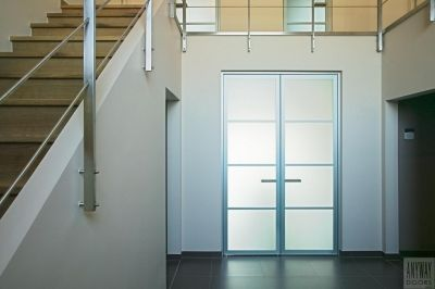 Design Double Porte Vitree Interieure Sur Mesure De Anyway Doors