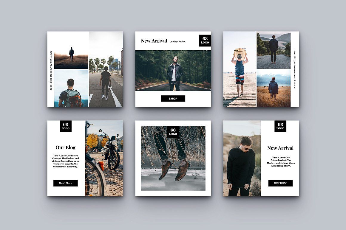 Social Media Kit Vol 3 Social Media Post Facebook Post Design Instagram Template