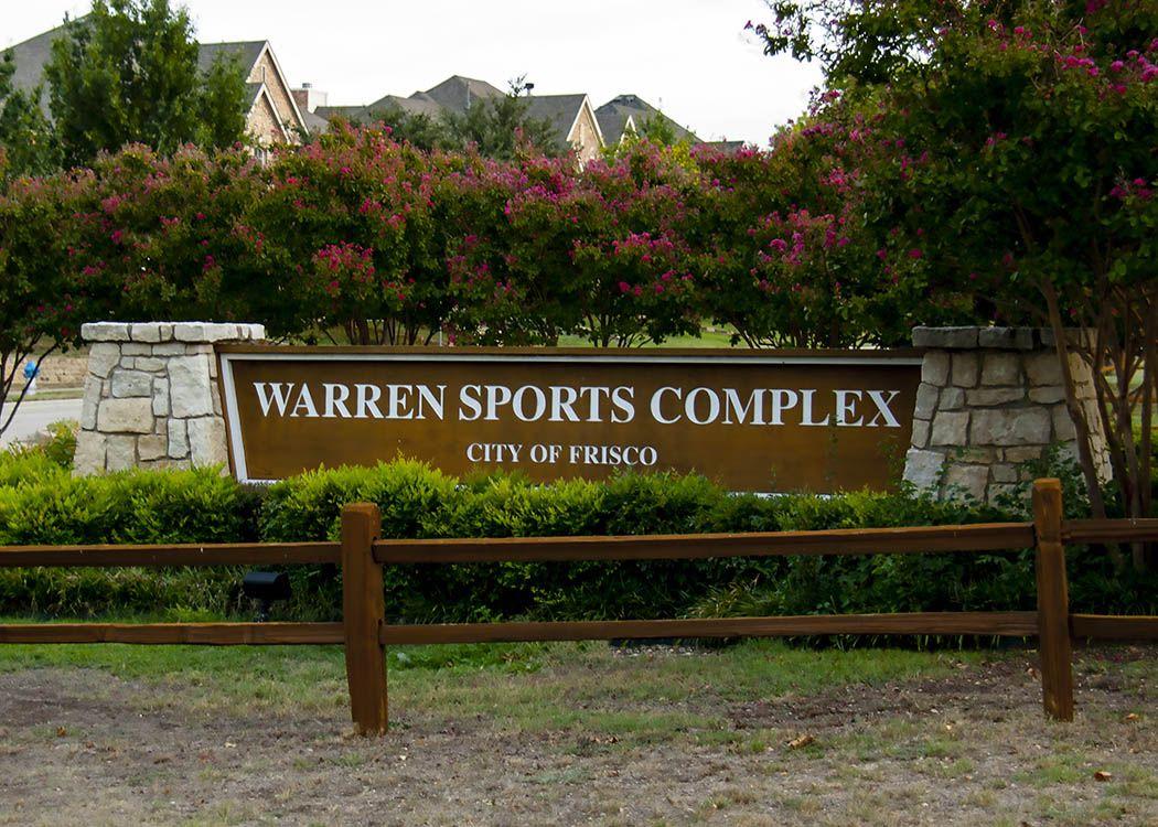 Warren Sports Complex   Frisco   Pinterest