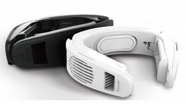 This Device Hugs Your Neck To Provide Personal Air Conditioning