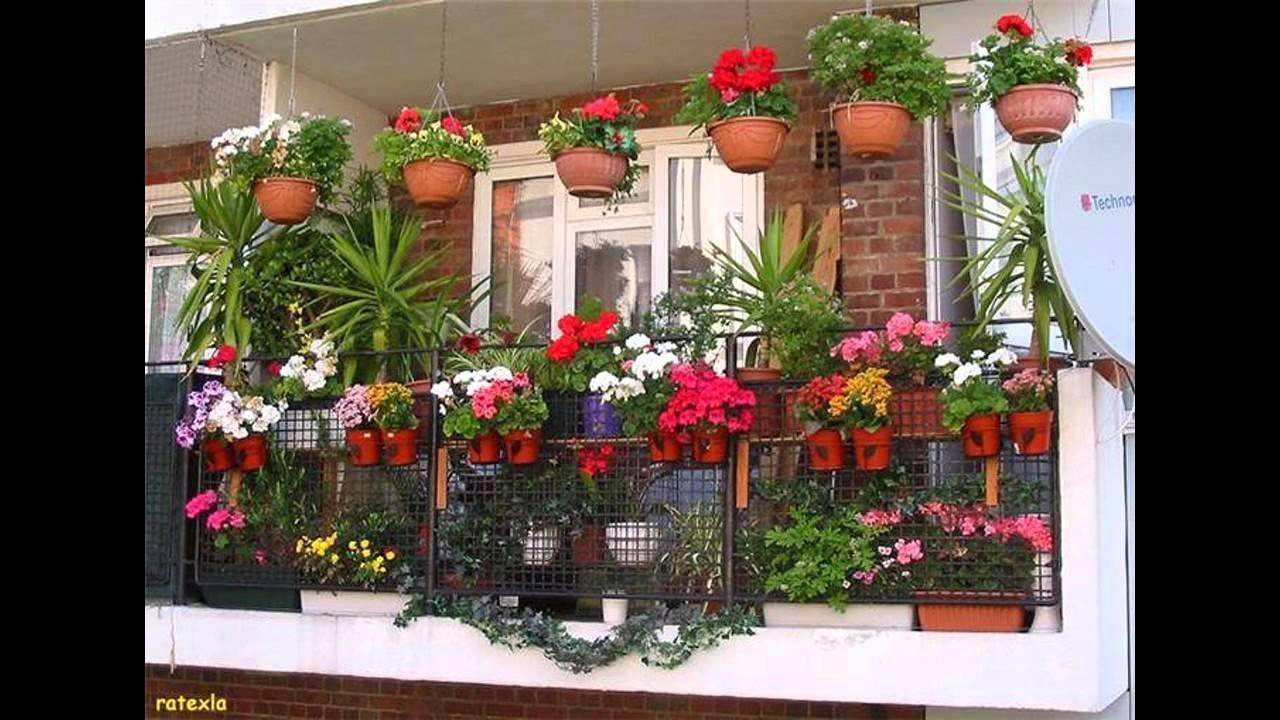 Fascinating Balcony Garden Designs Flower Garden Design