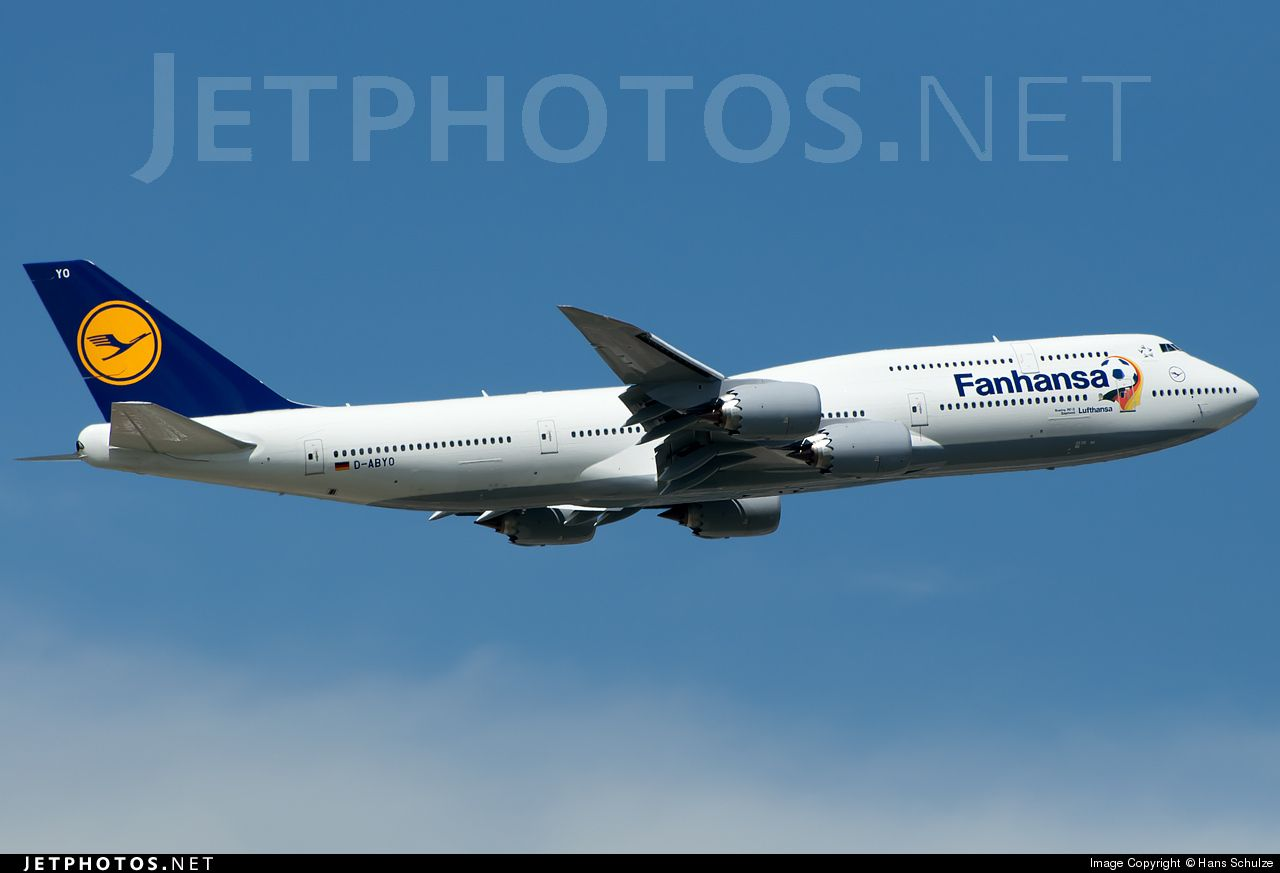 Boeing 747830 Intercontinental DABYO 37841 Frankfurt