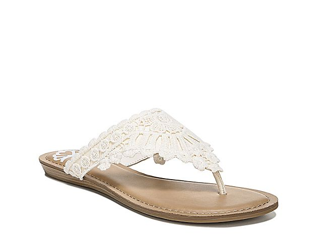 Women Samba Sandal Cream White Sandals Women Shoes