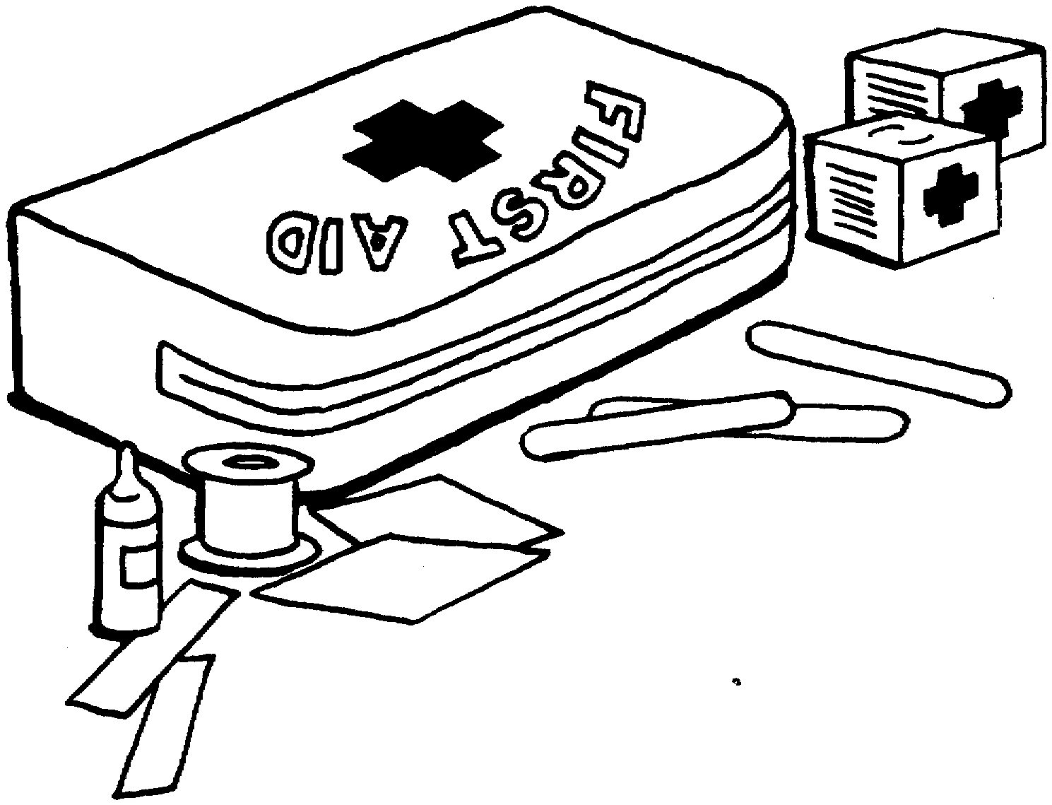 Coloring Page Kid S First Aid Pinterest Public Health