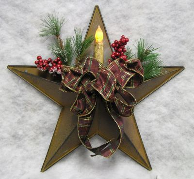 tin pocket star with candle project ideascraft