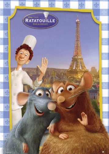 One of the best disney films it always makes me feel all cozy inside because of the French theme and all the scrummy food <3