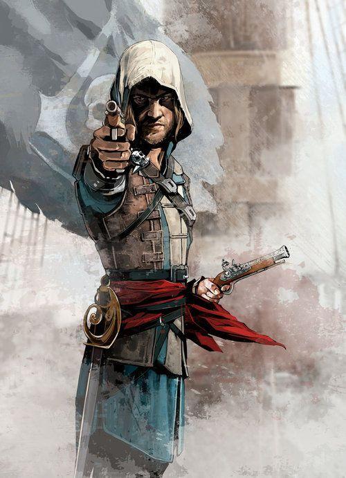 Edward Kenway Assassin S Creed Iv Black Flag By Mahyar Charejoo Assassins Creed Artwork Assassins Creed Black Flag Assassins Creed