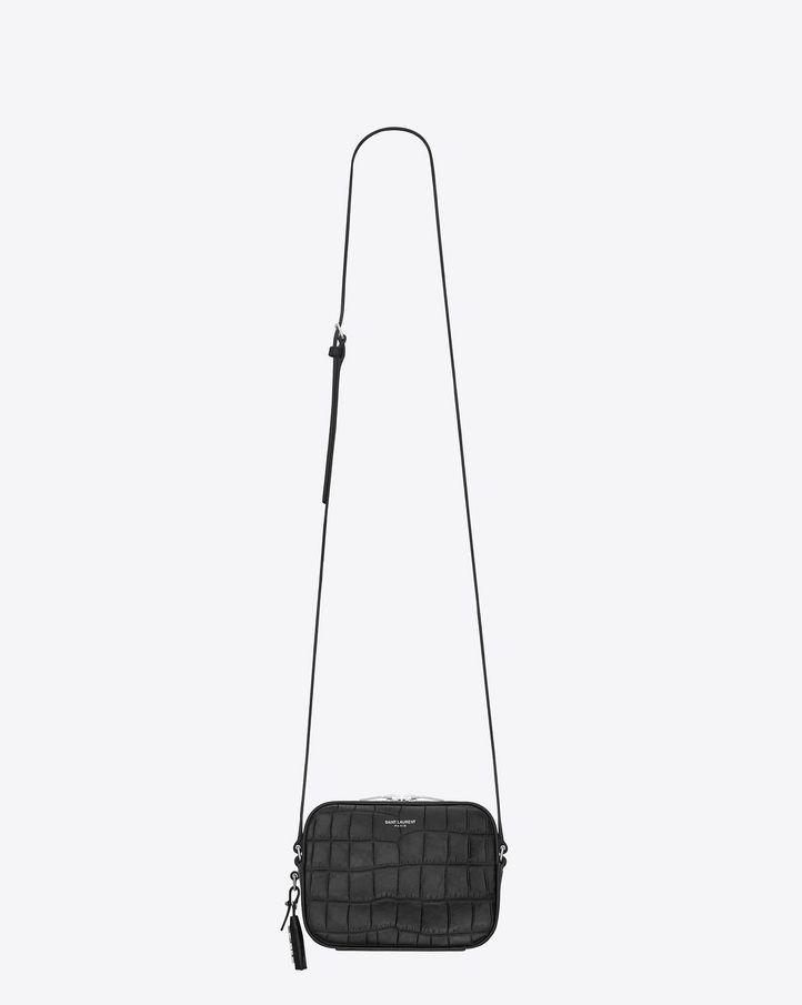 6fc88fd8d36 Saint Laurent Camera Bag | Style | Leather camera bag, Camera bag ...