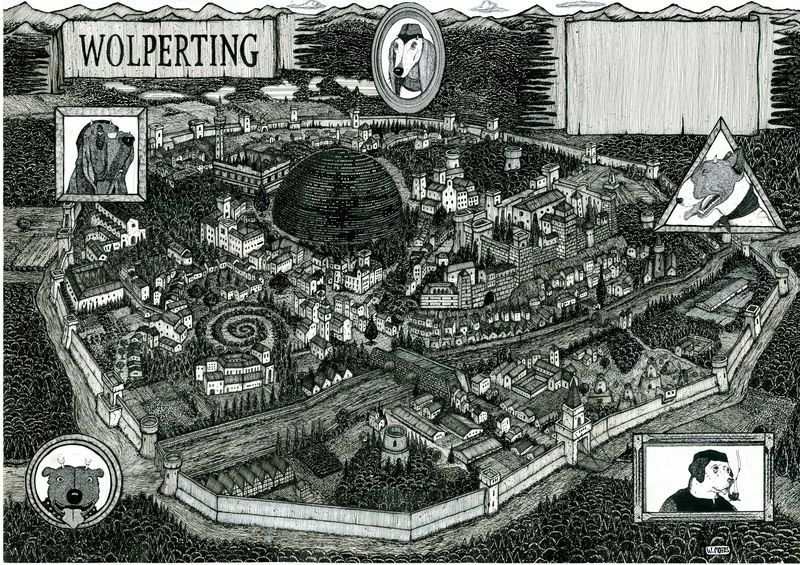 The City of Wolperting from Rumo and His Miraculous Adventures by