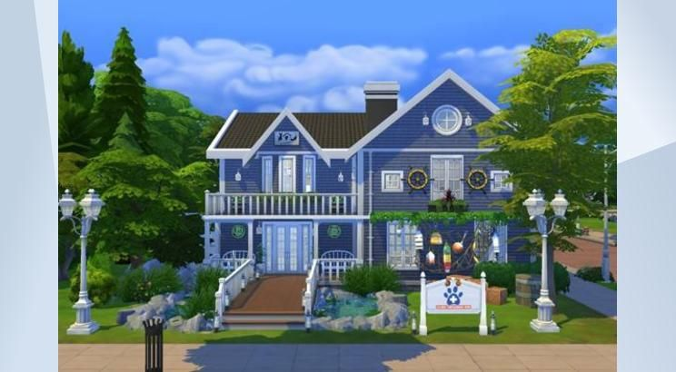 Check Out This Lot In The Sims 4 Gallery Sims 4 Pets Sims Pet