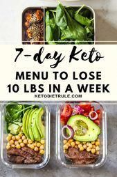7-Day Keto Diet Meal Plan and Menu for Beginners to Lose Weight-#7Day #Beginners #Diet #Keto #Lose #Meal #Menu #Plan #Weight #KetogenicDietFoodsToAvoid