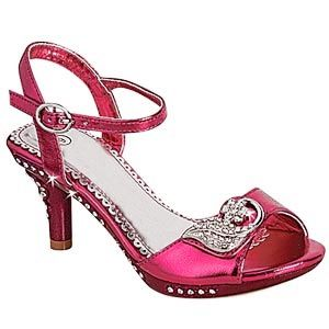 d6da10c6a8 This website has tons of way cute little girl high heels.....little girls  high heel shoes