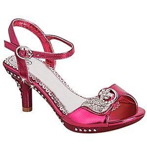This website has tons of way cute little girl high heels ...