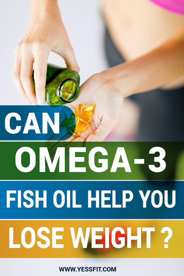 how can omega-3 fish oil help you lose weight | my exercise plan