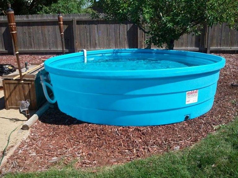 35 Simple Mini Stock Tank Pool Plastic Material For Safe Kids