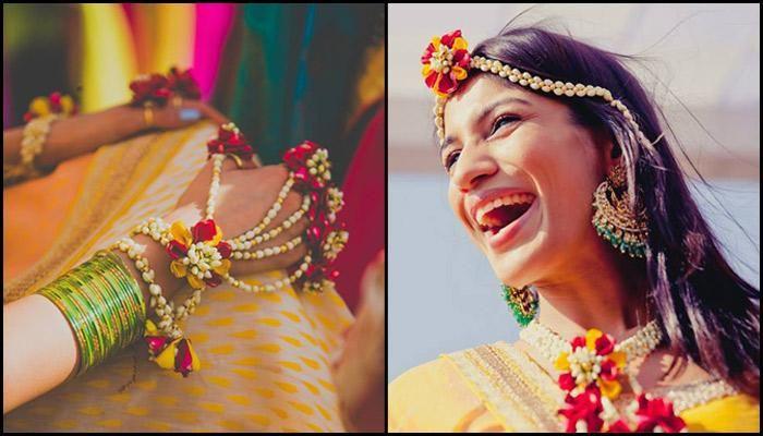 Bride's Floral Accessories