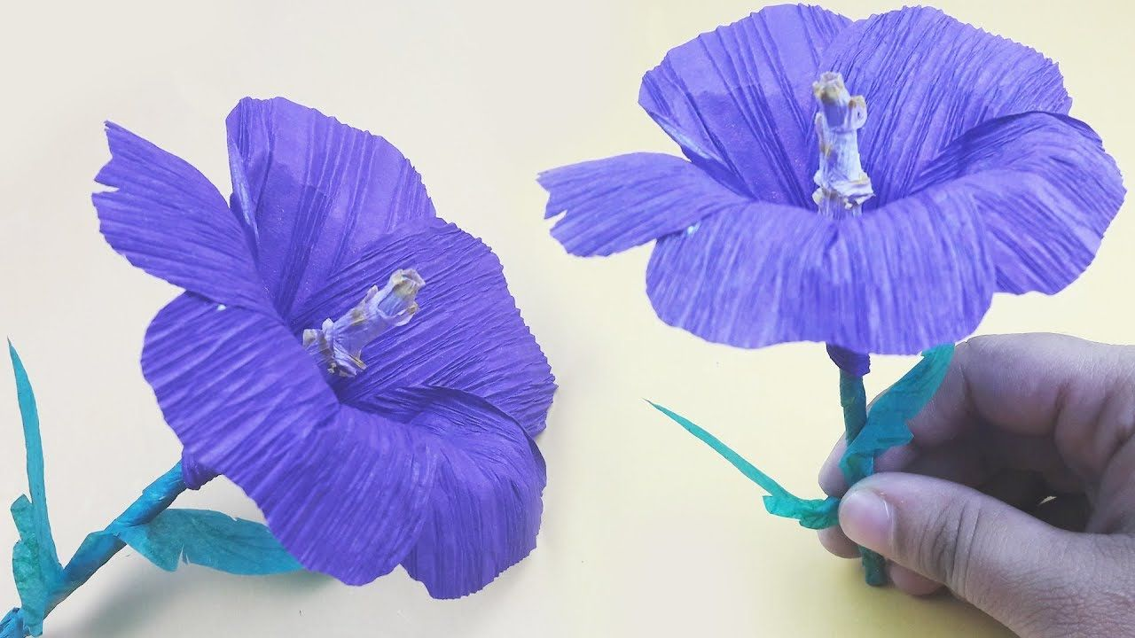 How to make origami hibiscus flower or easy crepe paper hibiscus how to make origami hibiscus flower or easy crepe paper hibiscus flower origami zone izmirmasajfo