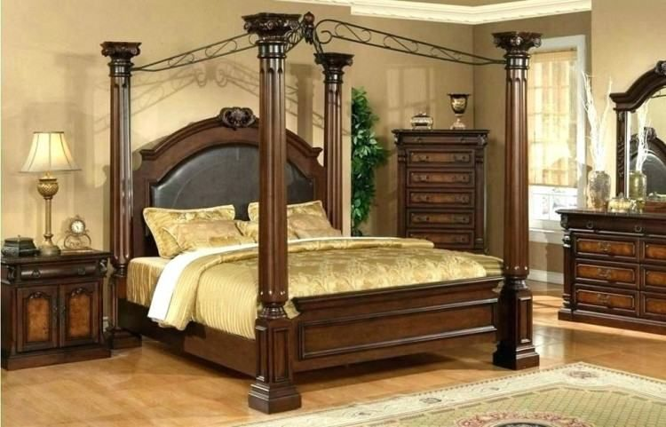South Coast Bedroom Furniture Wood Canopy Bed Canopy Bed Frame King Bed Frame