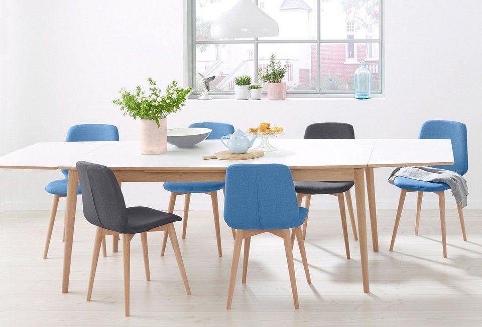 Pbj Esstisch Curve White Oak Breite 180 Cm In Bootsform Online Kaufen Solid Wood Dining Table Home Decor White Oak