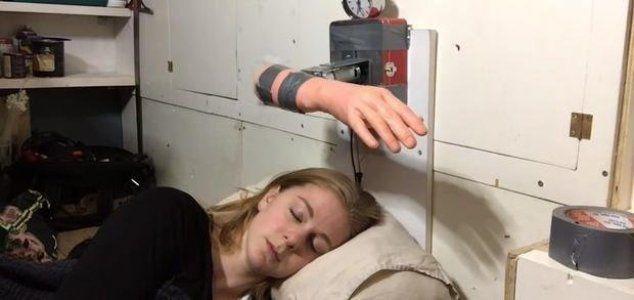 Ridiculous New Alarm Clock Slaps You Awake Alarm Clock Funny Gif Funny Gifs Fails