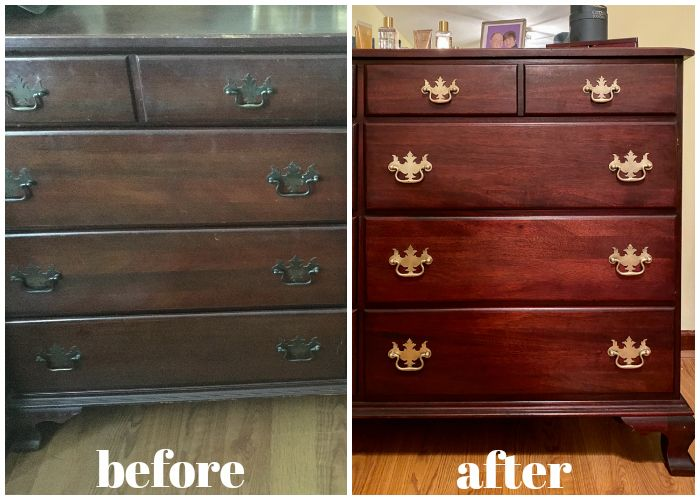 How to Restore Wood Furniture with Items You Already Have ...