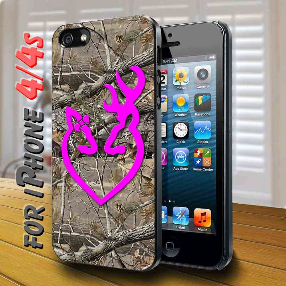 Browning deer camo black case for iphone 4 with images