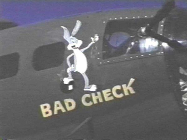 "B-17 Flying Fortress - ""Bad Check"""