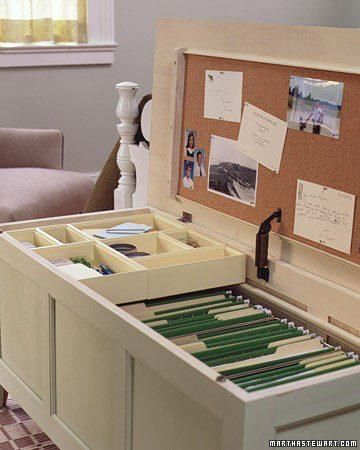 Tremendous Turn A Cedar Chest Into A Filing Cabinet House Ideas Beutiful Home Inspiration Aditmahrainfo