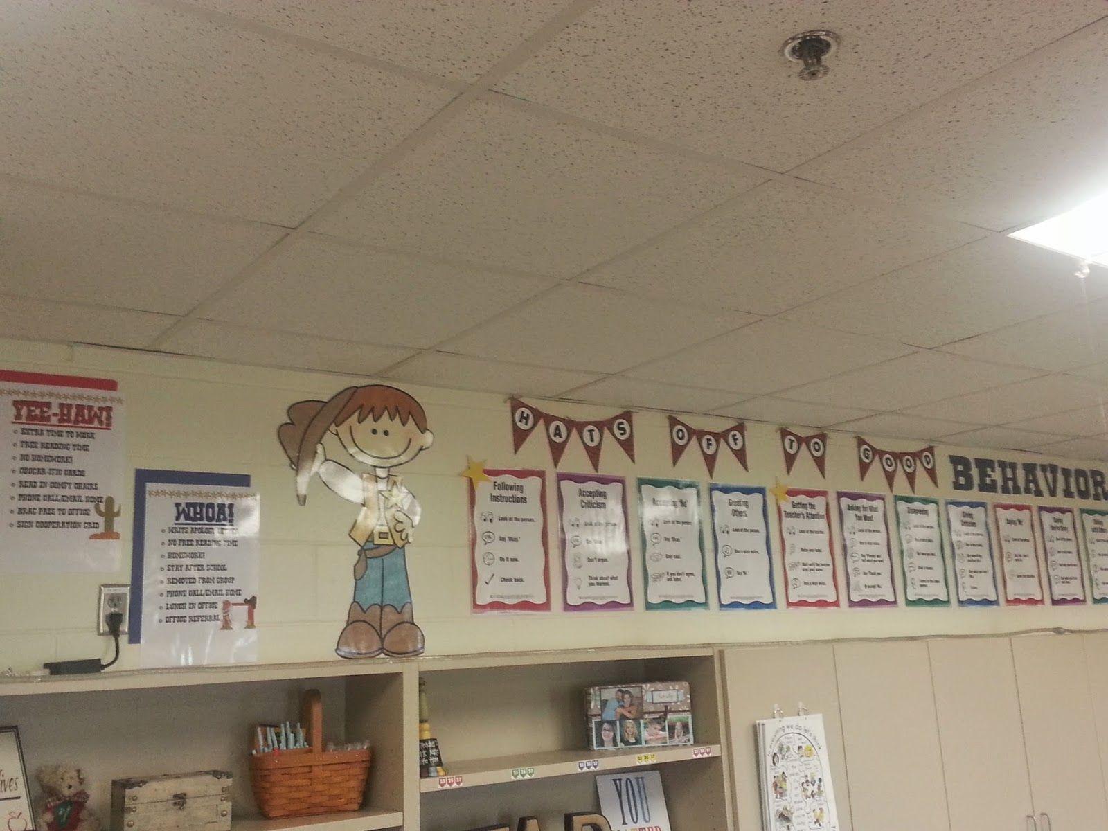 Western Theme Classroom
