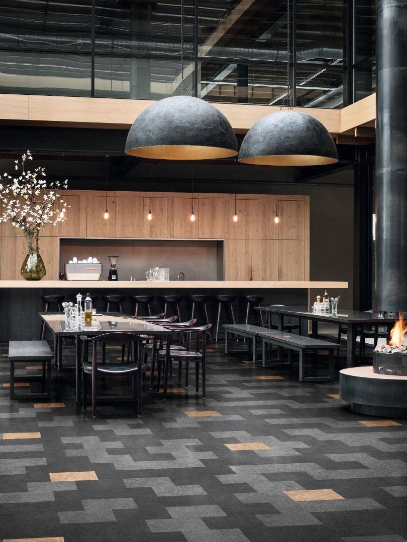 cafe design - Linoleum Restaurant Interior