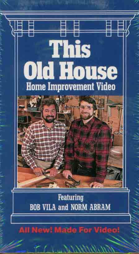 This Old House With Bob Vila And Norm Abram Another Good Show Old Houses Old Home Remodel Old House